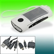 Solar Charger with LED Torch Flashlight