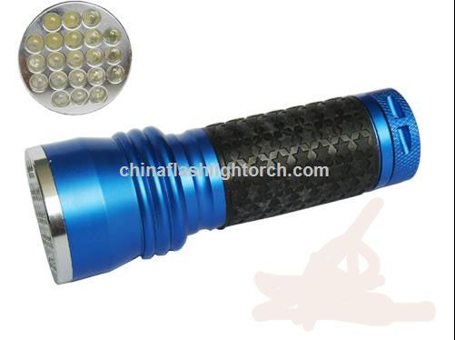 New Aluminium 21 LED Flashlight