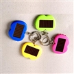 Apple Shaped Solar Mini Keychain Flashlight