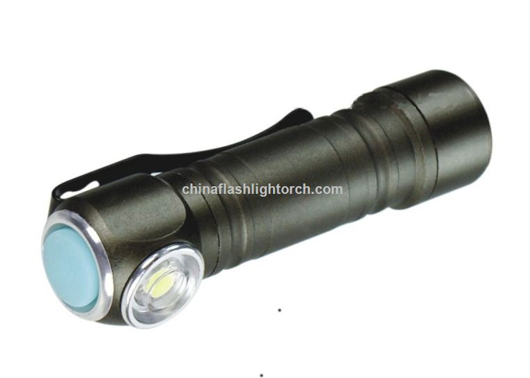 LED Flashlight With Clip