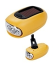 Mini Dynamo,Solar Rechargeable Flashlight