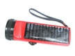 Round Solar Flashlight