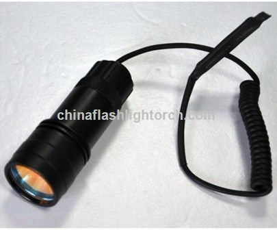 De aluminio anodizado duro LED Flashlight