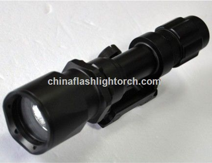White LED Tactical Flashlight for Night Shooting