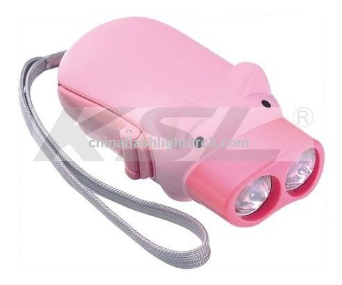 Pig flashlight, cute piggy,pig with cell phone charger