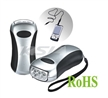 Emergency torch,Manual mobile phone charger,Camping flashlight