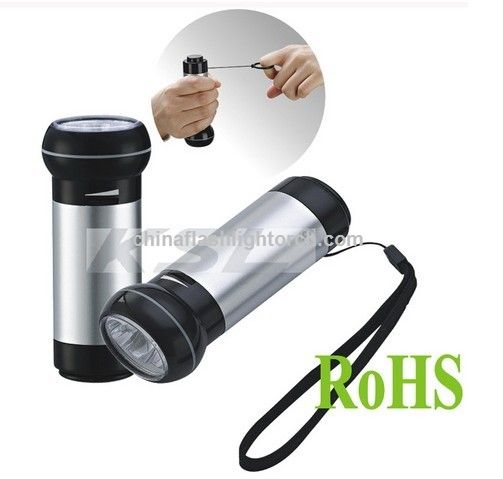 Pulling flashlight, Pull LED Flashlight,rechargeable dynamo flashlight