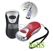 Wind up charger flashlight,Dynamo torch,Crank flashlight