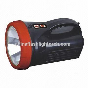 Rechargeable Flashlight with 12V,35W HID Bulb Light