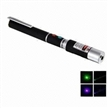 2-in-1 Green or Blue Laser Pen Pointer with 5mW Output Power and 532,405nm Wavelength