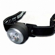 Focus Headlamp with Rubber Switch, 1-piece White LED and 2-piece