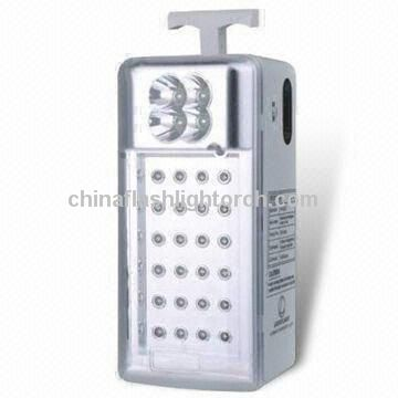 LED Emergency Lantern Lamp with 6V,4Ah Rechargeable Sealed Lead-Acid Battery