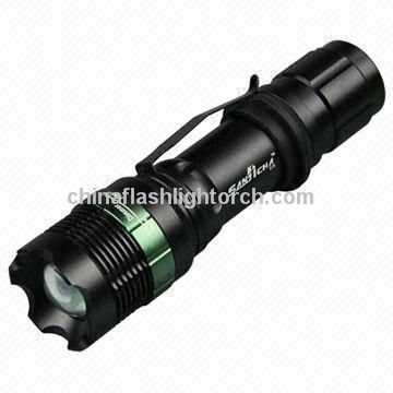 Rechargeable LED Flash Torch, Adjustable Focus, Zoomable LED Headlamp