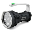 Sidiou Group Searchlight High-power Super Bright 8000 Lumens 6x Cree Xm-l T6 LED Flashlight Searchlight 18650