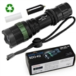 Sidiou Group Super Bright Cree T6 LED Flashlight torch 900 Lumens 7W Zoomable Torch