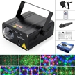 Sidiou Group 108 Sound Activated Mini Laser Lighting Green and Red Black Model