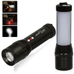 Sidiou Group Outdoor multifunction rechargeable flashlight camping flashlight mechanical zoom night fishing lamp flashlight searchlight