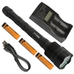 Sidiou Group 3X CREE XM-L T6 LED 3800Lm Flashlight Torch 3800Lm Torch   3x18650 Battery Battery Charger LED Lifespan 100,000 hours