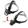 Sidiou Group 7 LED Headlamp Water Resistant 4 Modes including 3 x 1.5V AAA Batteries