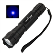 Sidiou Group SDO 501B UV LED flashlight ultraviolet black light incl. Holster and 1x18650 battery