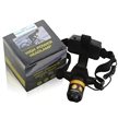 Sidiou Group 1200 Lumen LED Zoomable Headlamp Head Torch Light Bike Lamp Rechargeable 18650 Battery