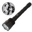 Sidiou Group 3800 Lumens TR-3T6 Flashlight with 3 Cree XM-L LED