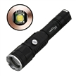 Sidiou Group 2nd Generation USB Charging Treasure Flashlight 10W CREE XM-L T6 1200Lm Adjustable Focus Torch