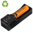 Sidiou Group Universal Intelligent Li-ion USB Battery Charger Single Slot Battery Charger (Battery Not Including)