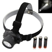 Sidiou Group 7 LED Headlamp Water Resistant 4 Modes Head Safety Lamp Flash Light Torch With 3 x 1.5V AAA Batteries