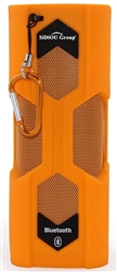 Sidiou Group Outdoor Multifunctional NFC Build-in Rechargeable Li Battery Bluetooth CSR 4.0 Sports Wireless Speaker (Orange)
