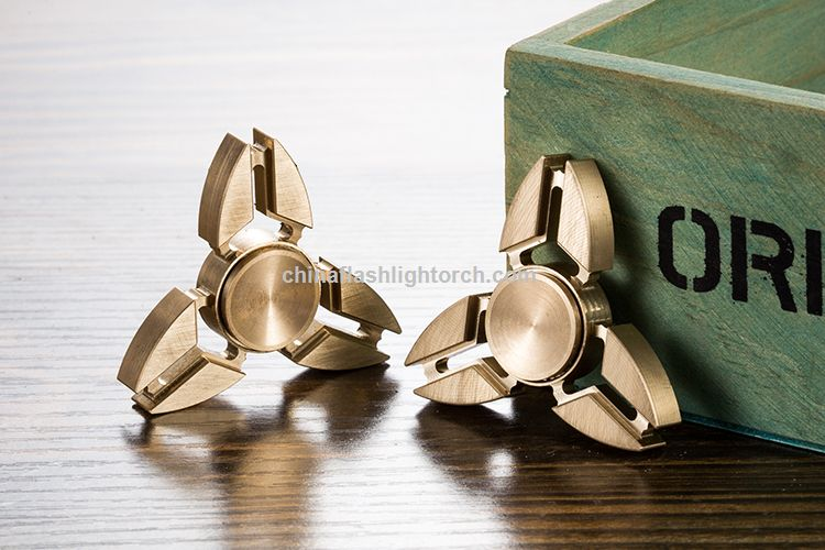 Metal/ Brass/ Titanium/ Aluminium Alloy EDC Finger Spinner with Hybrid Ceramic Bearing, Finger Spinner Fidget Toy