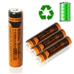 Sidiou Group 1100mAh 1.2V Rechargeable Ni-MH battery AAA or No.7 rechargeable battery Ni-MH universal battery(AAA type)