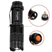 Sidiou Group 7w 300lm Mini Cree Led Flashlight Torch Adjustable Focus Zoom Light Lamp